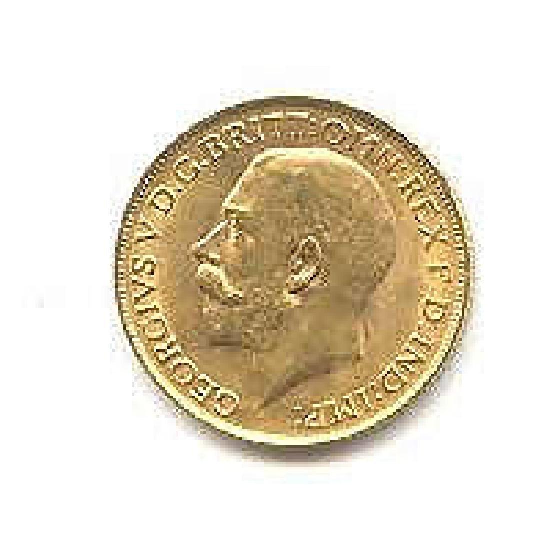English Sovereign (King or Queen) Gold Coin Our Choice