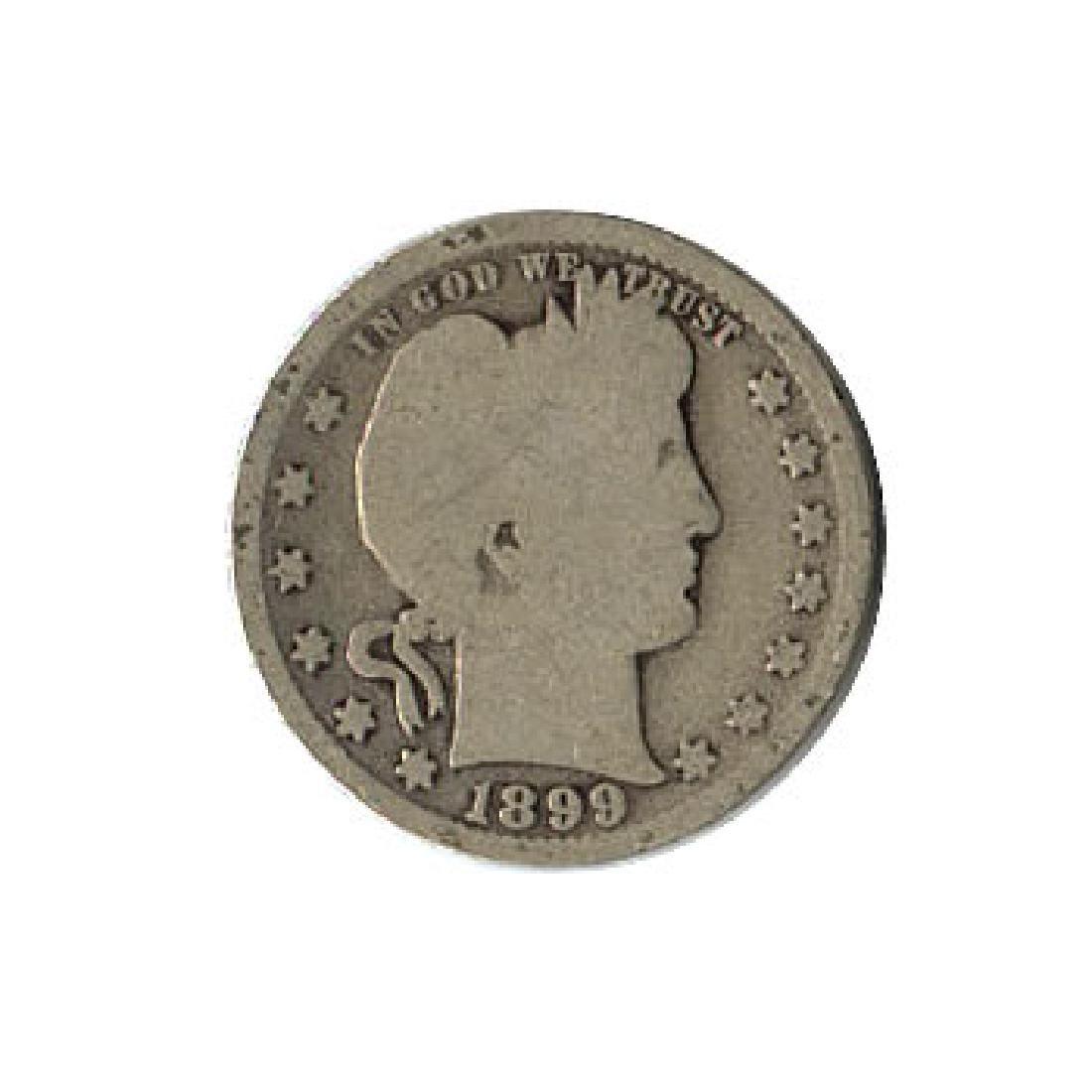 Early Type Barber Quarter 1892-1916 G-VG