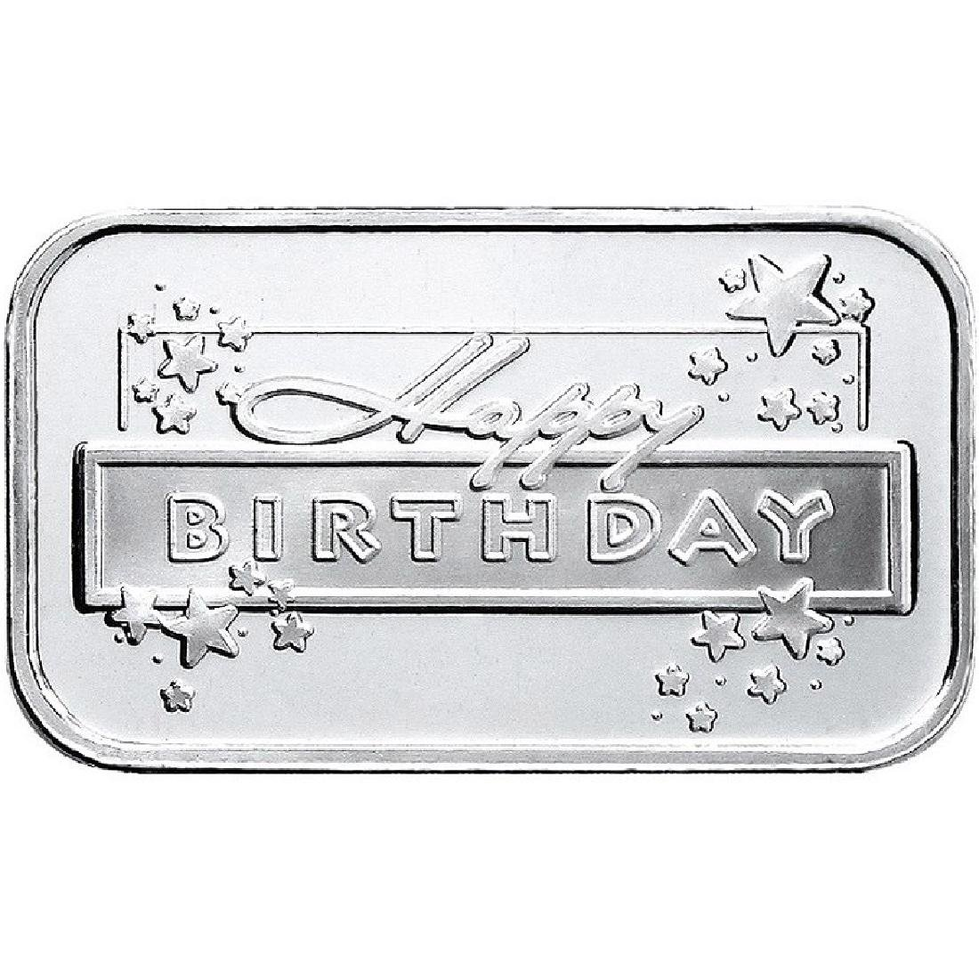 Happy Birthday 2018 .999 Silver 1 oz Bar