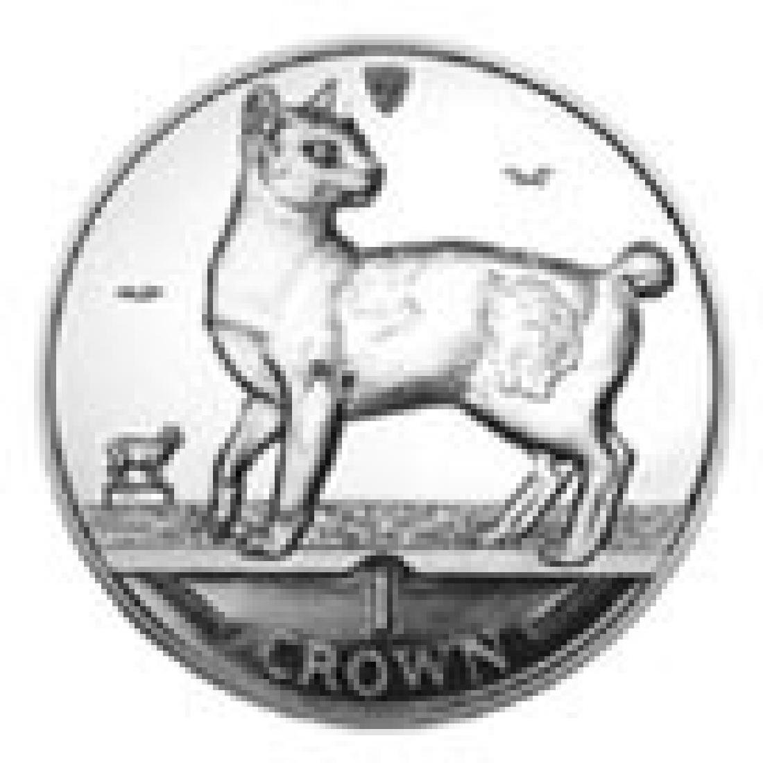 Isle of Man 1994 1 Crown Silver Proof Japanese Bobtail