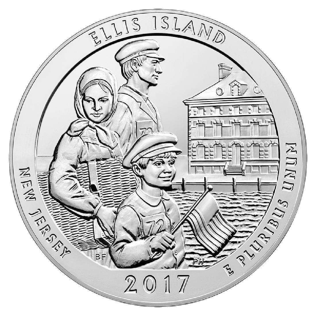 2017 Silver 5oz. Ellis Island ATB