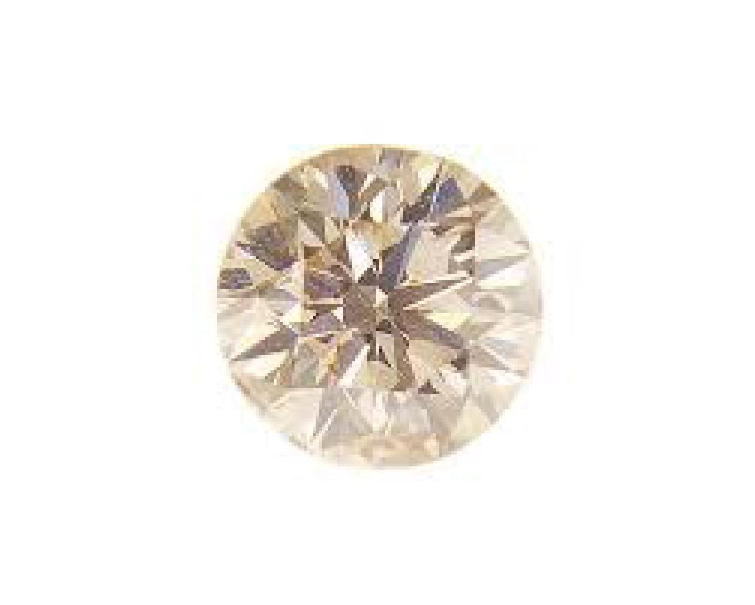 CERTIFIED IGI 0.6 CTW ROUND DIAMOND LB/SI2