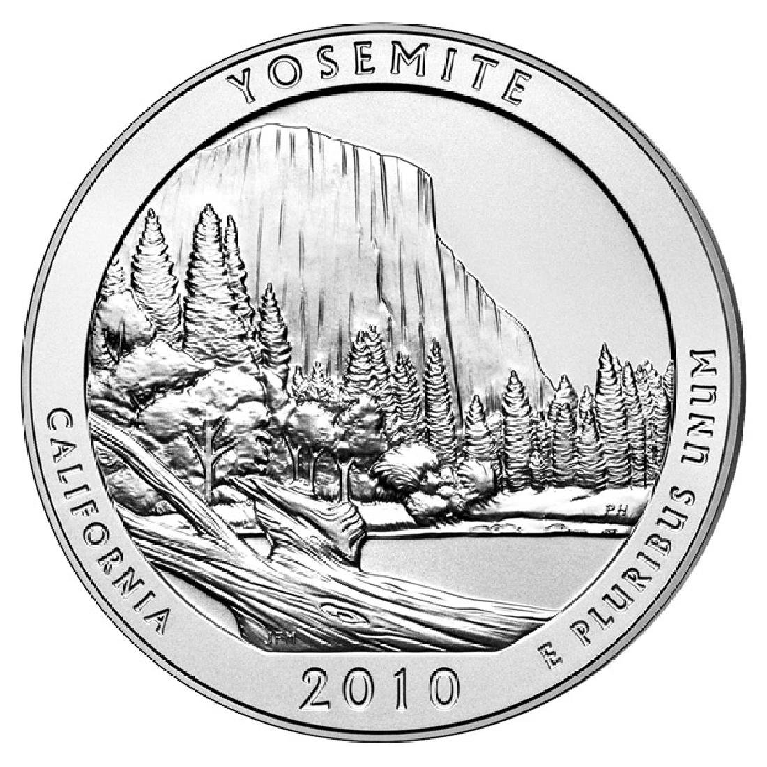 2010 Silver 5oz. Yosemite ATB