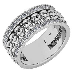Certified 043 Ctw Diamond VSSI1 Creature Style 14K Wh