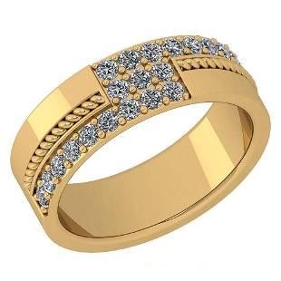 Certified 052 Ctw Diamond I1I2 Engagement 14k Yellow