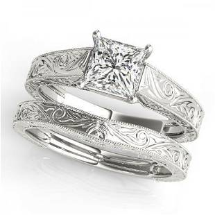 CERTIFIED 18KT WHITE GOLD 100 CTW GHVSSI1 DIAMOND S