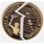 Kiribati-Samoa $50 Two Piece Gold Coin PF