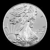 2013 1 oz Silver American Eagle BU