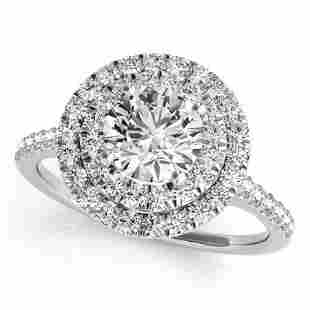 CERTIFIED 14KT WHITE GOLD 1.22 CTW J-K/VS-SI1 DIAMOND H