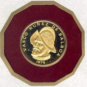 Panama 1975-1977 100 Balboas Gold Proof