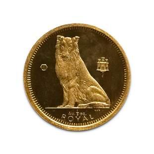Gibraltar 5th Royal Gold 1995 Collie