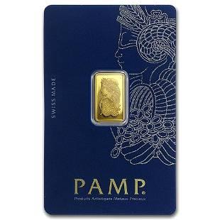 PAMP Suisse 2.5 Gram Gold Bar