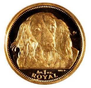 Gibraltar One Royal Gold 1993 Dachshund