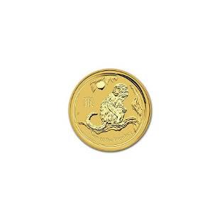 Australian Perth Mint Series II Lunar Gold One-Twentiet