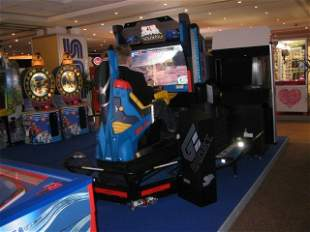 AFTERBURNER CLIMAX DELUXE SIT-DOWN ARCADE VIDEO GAME