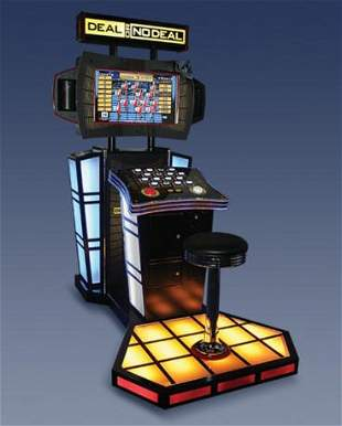 DEAL OR NO DEAL DELUXE ARCADE VIDEO GAME