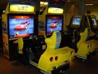 OUTRUN 2: SPECIAL TOURS SIT-DOWN ARCADE VIDEO GAME