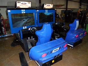 FORD RACING: FULL BLOWN SIT-DOWN ARCADE VIDEO GAME