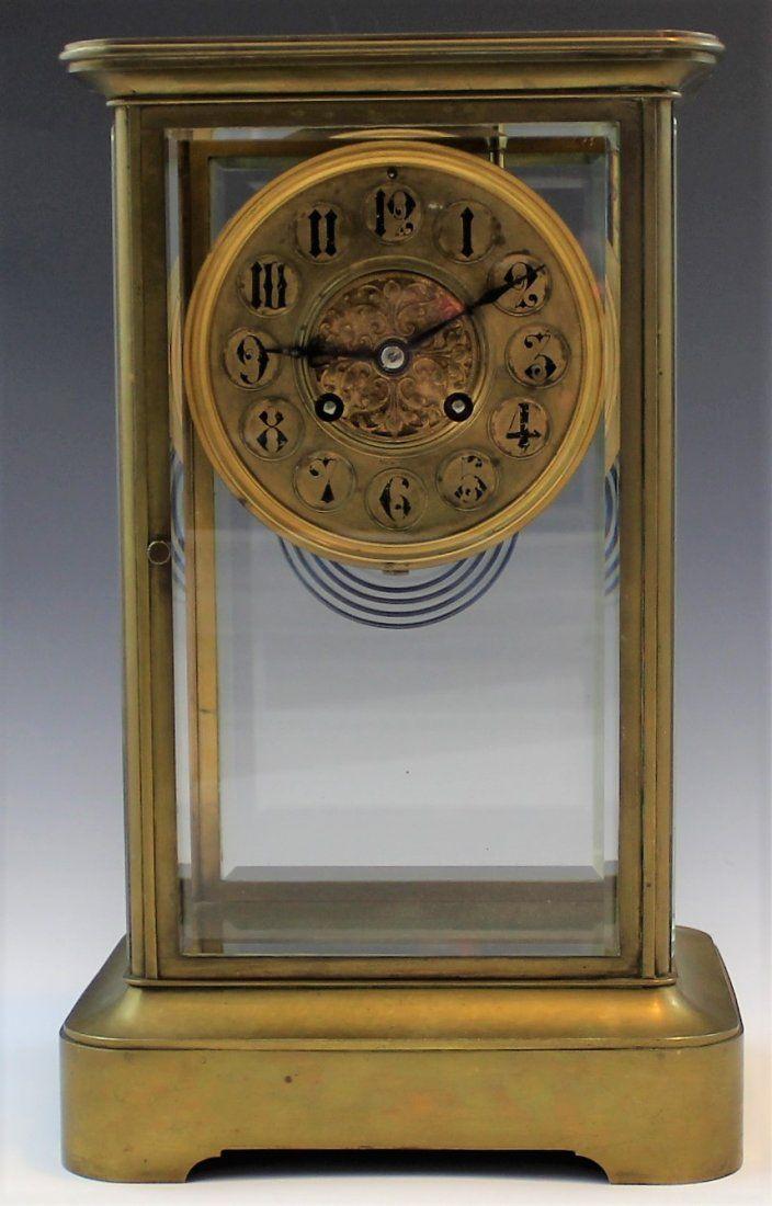 Tiffany & Co. Bronze Clock