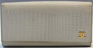 Chanel Crocodile Wallet
