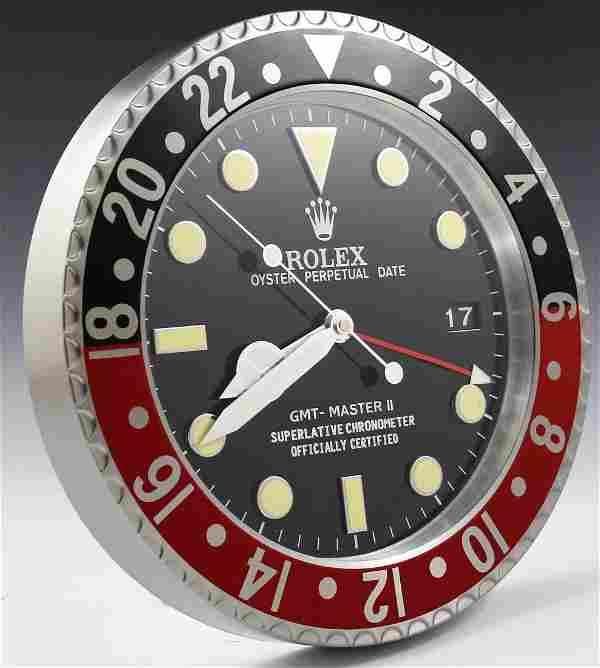 Rolex Dealer Clock