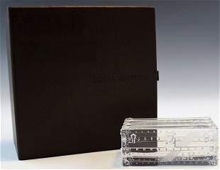 Louis Vuitton Crystal Trunk
