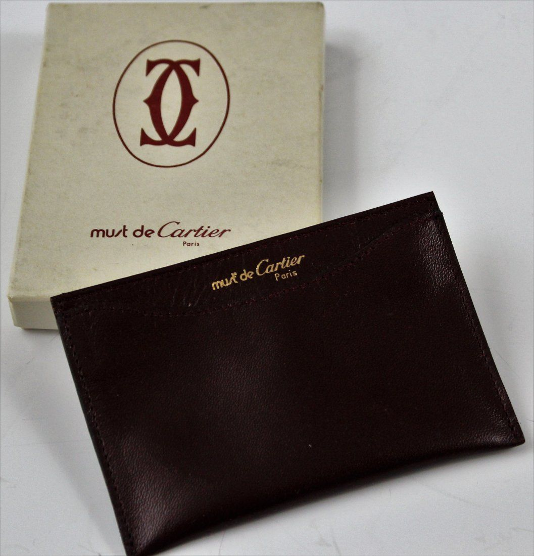 Cartier Credit Card Holder