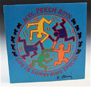 Keith Haring LP Signed