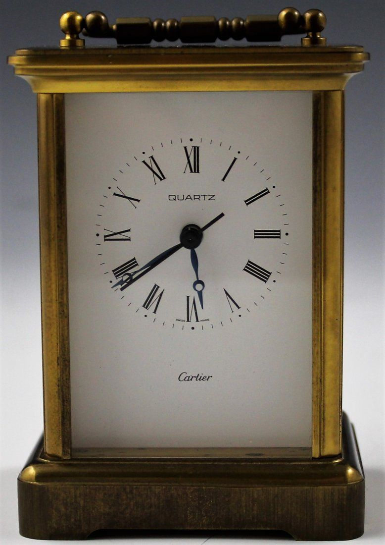 Cartier Desk Clock