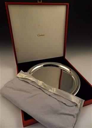 Cartier Pewter Serving Platter