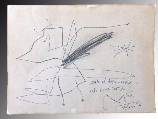 Joan Miro, Untitled