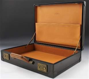 Hermes Carbon Fiber and Vache Naturelle Briefcase