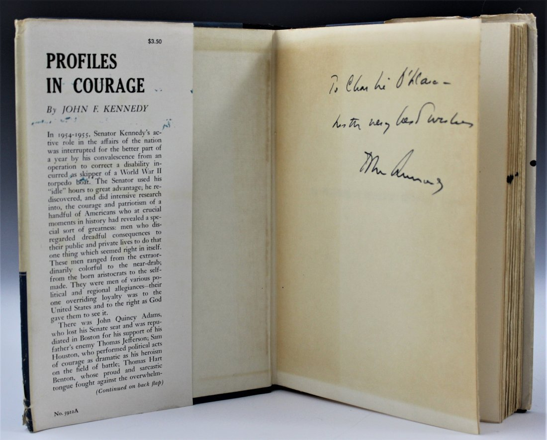 John F. Kennedy, Profiles In Courage Signed Book