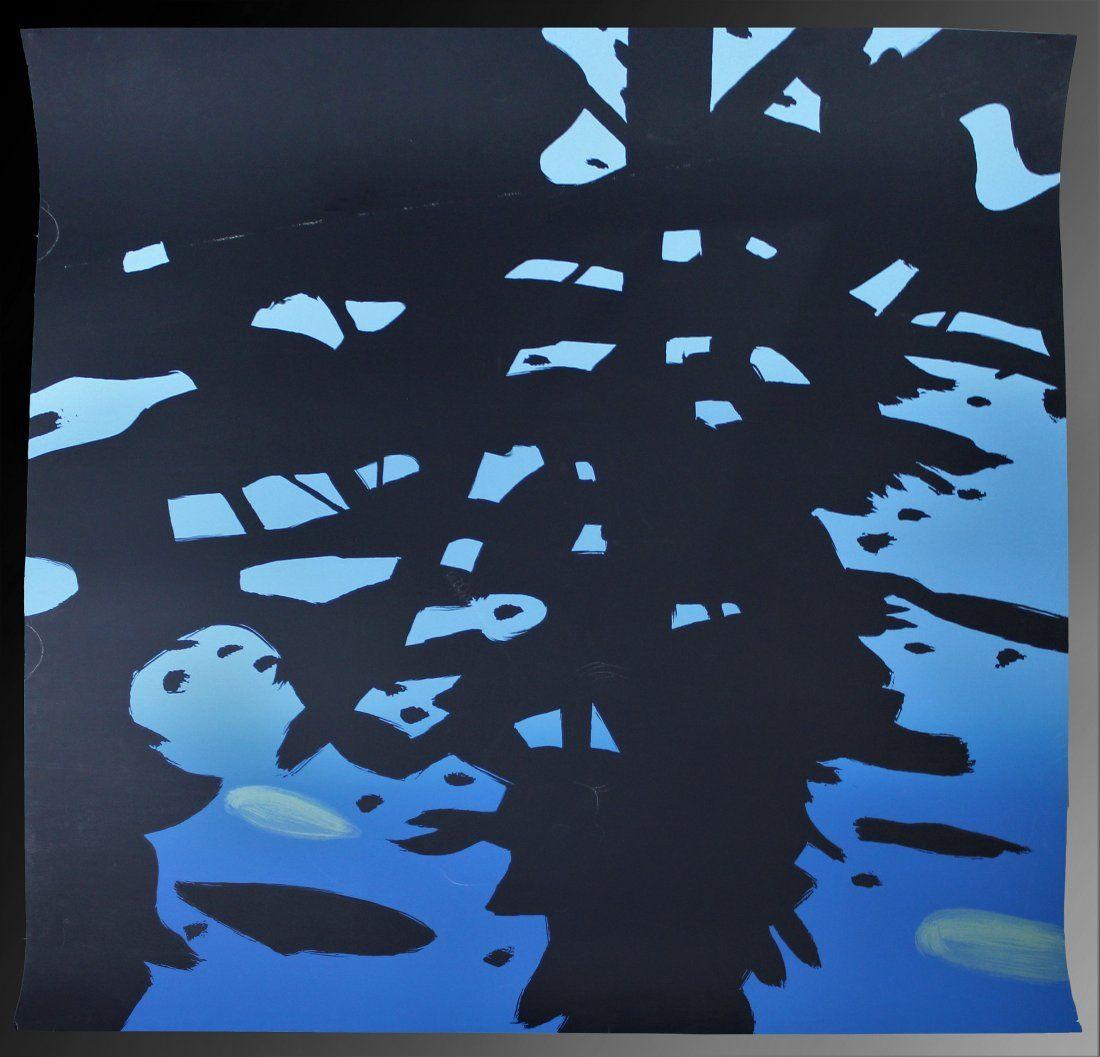 Alex Katz, Reflection Screenprint