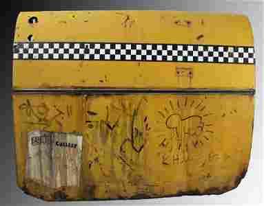 Keith Haring, Cab Door