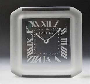 Cartier Clock Paperweight