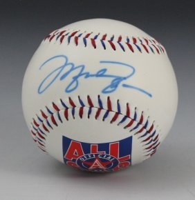 Michael Jordan Signed Baseball