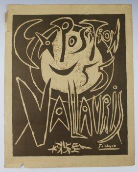 Pablo Picasso , 1955 Exposition Vallauris
