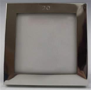 Cartier Silver Frame