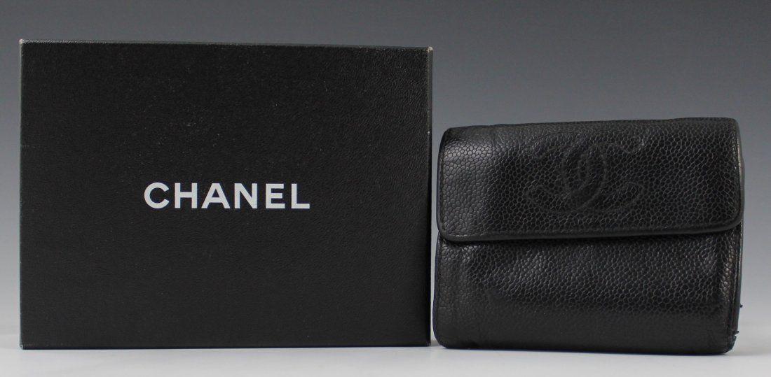 Chanel Bi-Fold Leather Wallet