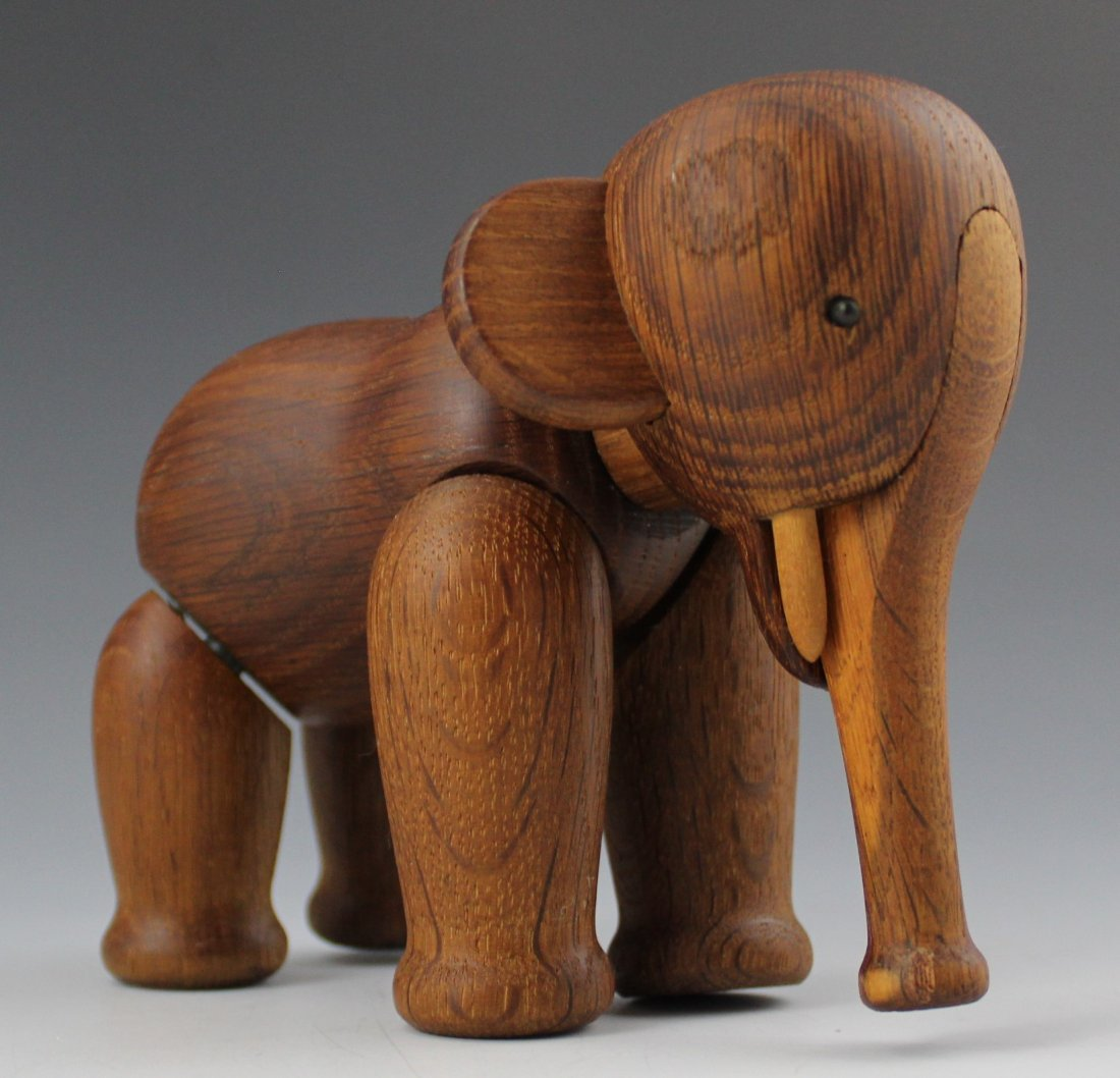 Kay Bojesen Signed Danish Elephant
