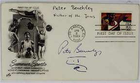 Peter Benchley Signed