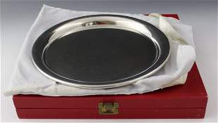 Cartier Silver Platter