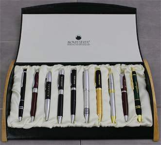 Patek Philippe, Bvlgari, Panerai, Collection of Pens