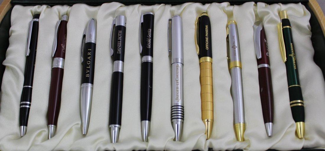 Patek Philippe, Bvlgari, Panerai, Collection of Pens - 2