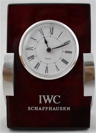 IWC Schaffhausen Rosewood Clock