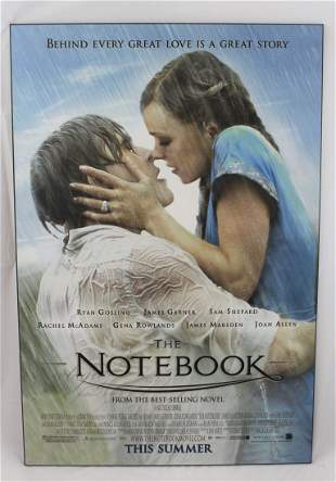 The Notebook Print on Wood
