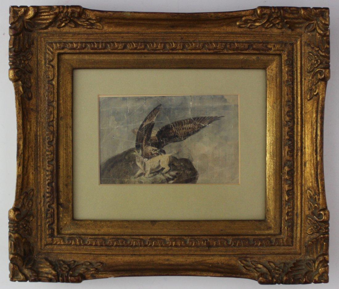 John James Audubon Original Watercolor