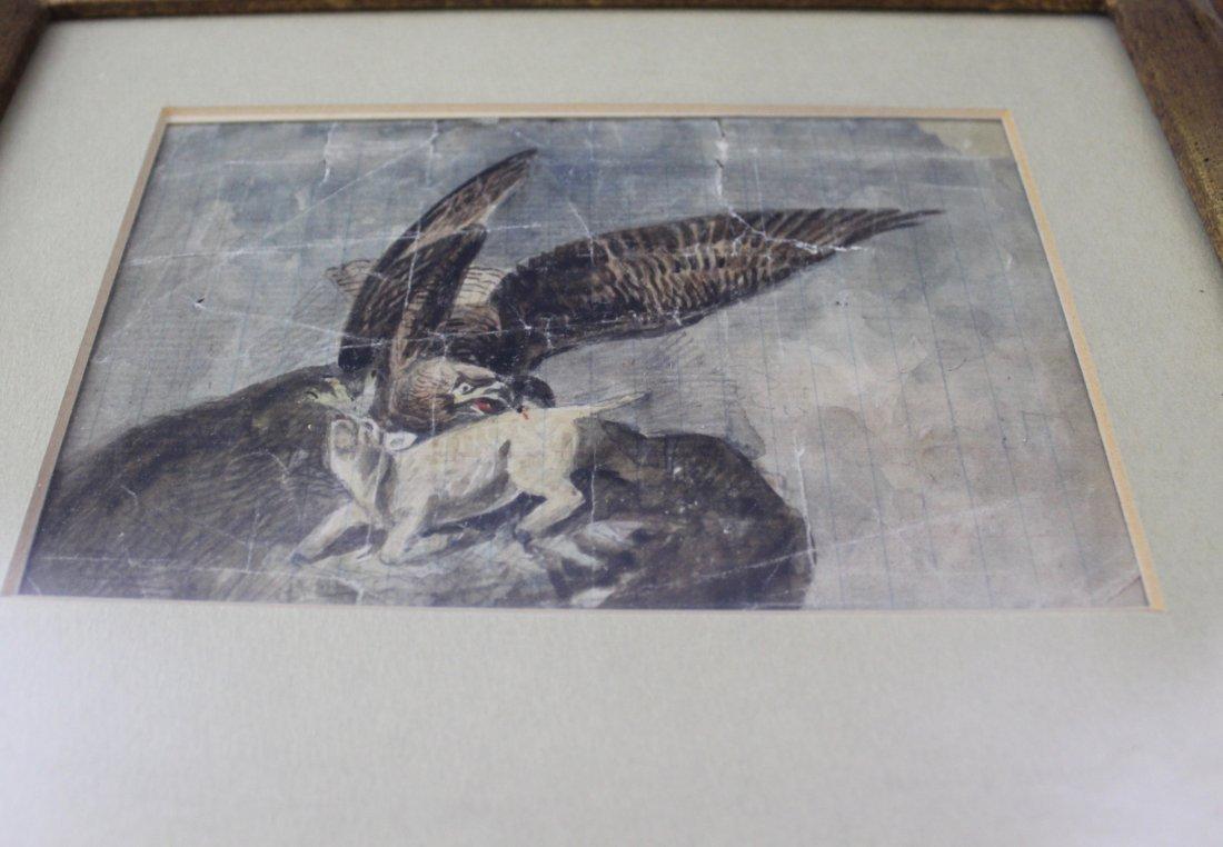 John James Audubon Original Watercolor - 2