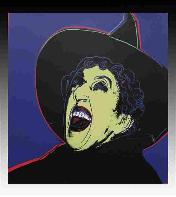 Andy Warhol, Witch Screenprint